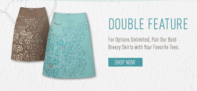 Pair Our Bold Breezy Shirts with Your Favorite Tanks and Tees