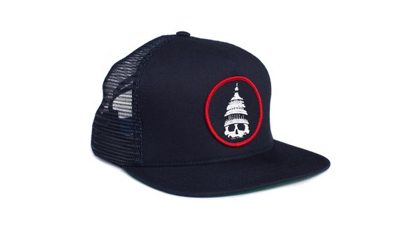 huf_hat_Death_And_Taxes_Trucker_Navy