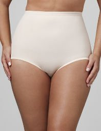 Beige,Black Flexees Seamless Brief