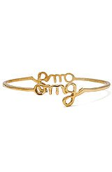 The OMG Stackable Bangle in Gold
