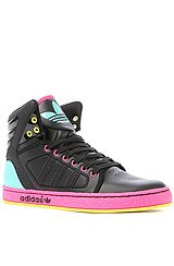 The Adidas High Ext W Sneaker in Black Multi