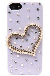 The Precious Heart Iphone 5 Case in Purple