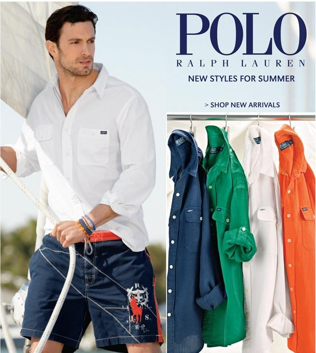 POLO RALPH LAUREN | NEW STYLES FOR SUMMER | SHOP NEW ARRIVALS