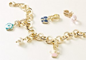 Little Miss Twin Stars Charms & Bracelets