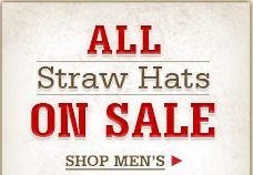 All Straw Hats on Sale