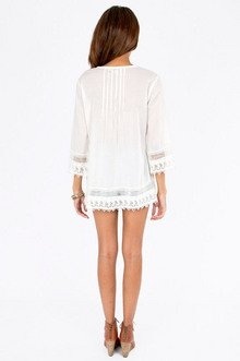 Judging By The Coverup Tunic $43