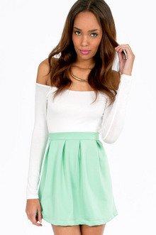Scuba Flare Skirt $23