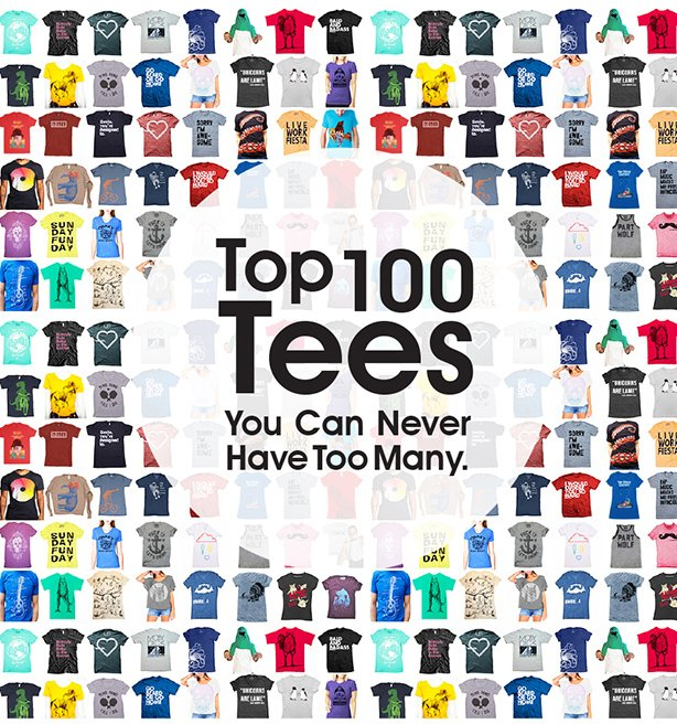 100 Tees Pop Up US