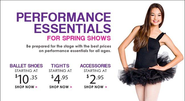 Shop top performance essentials.