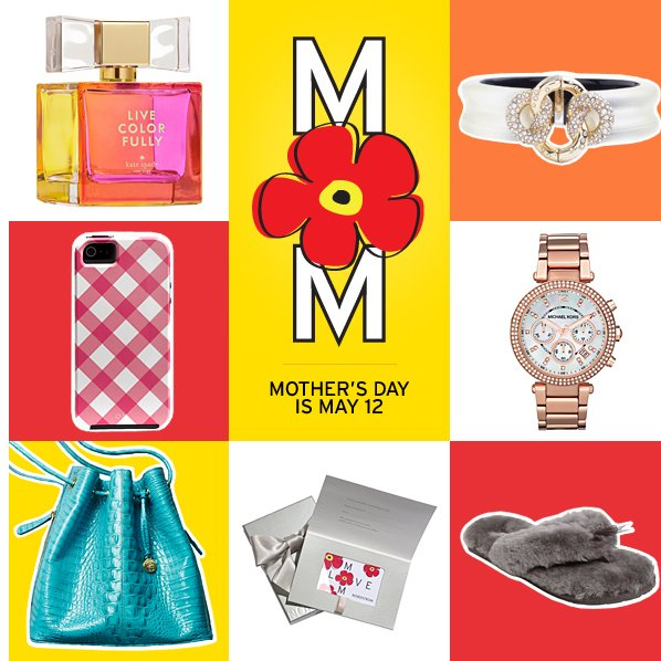 MOTHER'S DAY IS MAY 12