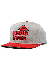The Hustle Trees Hat in Light Gray