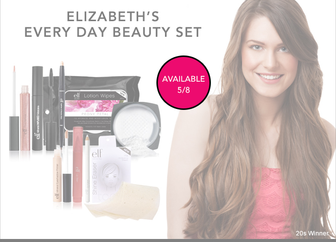 Available 5/8: Elizabeth's Every Day Beauty Set