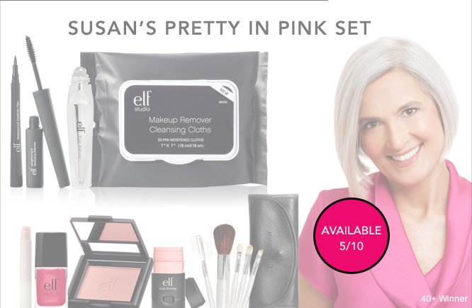 Available 5/10: Susan's Pretty In Pink Set