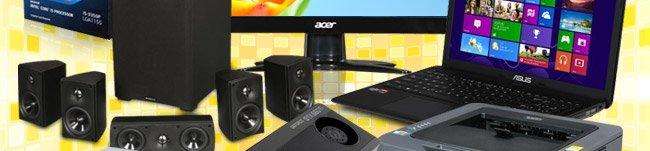 Speaker, Laptop, ODD