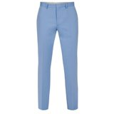 Blue Straight Leg Trousers