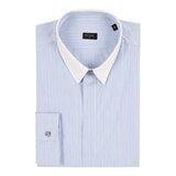 Sky Blue Ticket Stripe Shirt