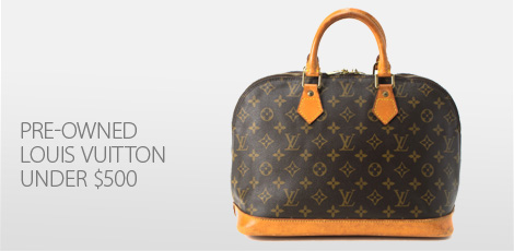 PreOwned Louis Vuitton under $500