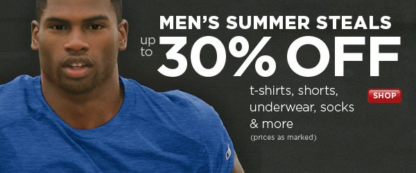 SHOP Men's Summer Steals SALE
