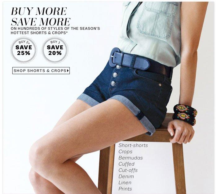 Shop Shorts & Crops