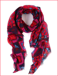 Pascale printed scarf