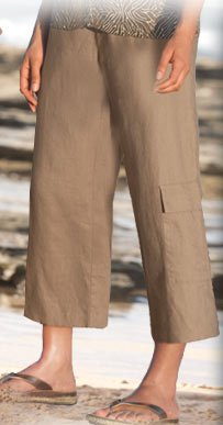 Perfect for changeable weather, our cropped pants and capris will carry you through the summer in comfort and style.