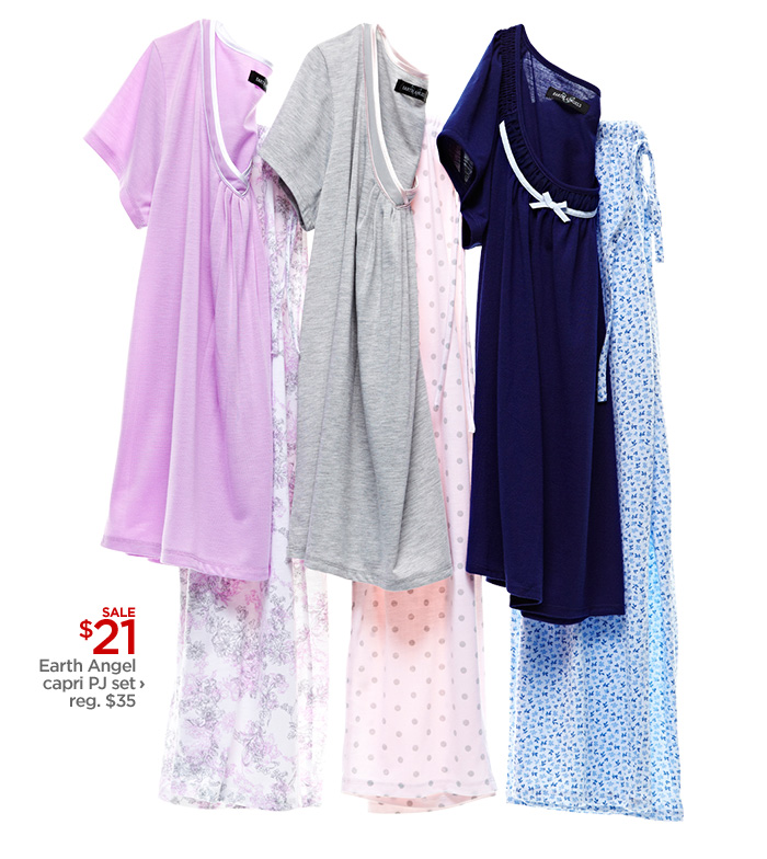 SALE $21 Earth Angel capri PJ set› reg. $35