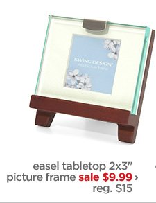 "easel tabletop 2x3"" picture frame sale $9.99› reg.  $15"