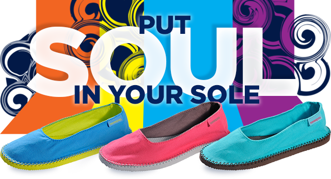 PUT SOUL IN YOUR SOLE