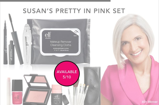 Susan's Pretty In Pink Set - available 5/10