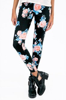 Rose Bouquet Leggings $33