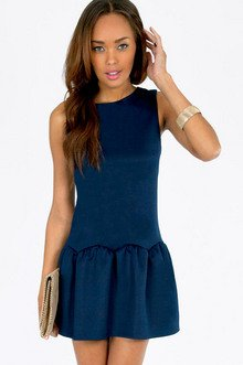 Ruffled Belle Dress $36
