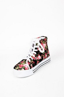 Maniac Floral Sneakers $29
