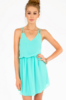Square One Tank Dress II $28