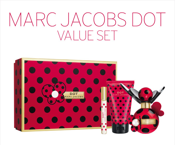 MARC JACOBS DOT VALUE SET