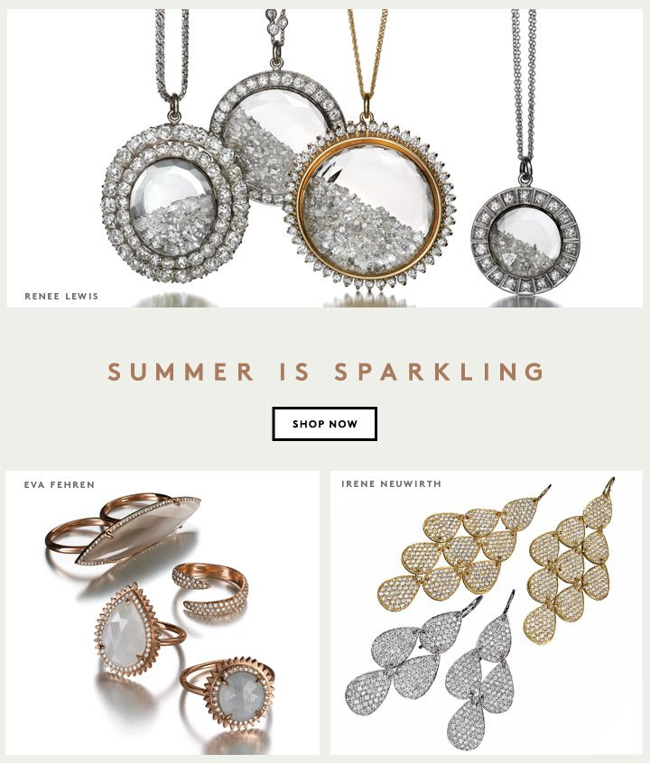 Shop show-stopping jewelry and make your summer shine.