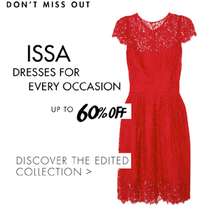ISSA UP TO 60% OFF