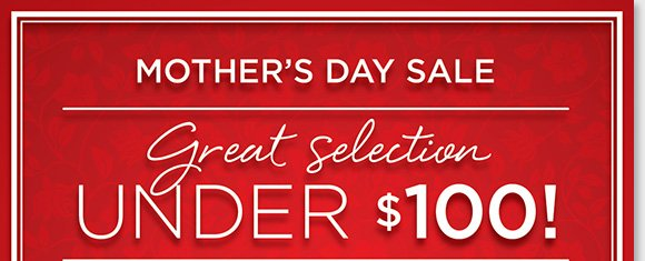 Give mom the gift of comfort this Mother's Day! Shop a great selection from Dansko, ABEO, Raffini, ECCO, and more for under $100 during our Mother's Day Sale! Shop now online and in-stores to find the best selection at The Walking Company.