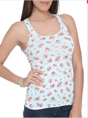 Shop Ditsy Floral Racer Tank