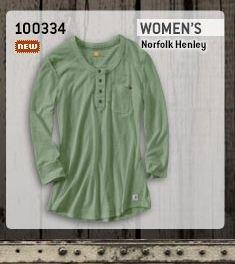 Women's Norfolk Henley