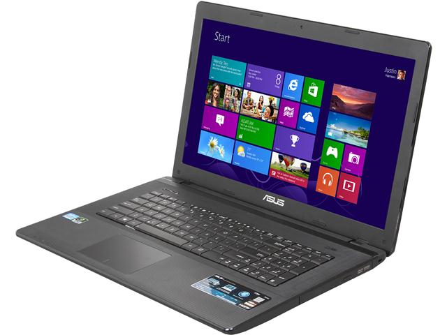 ASUS F75VD-NS51 Notebook Intel Core i5 3230M(2.60GHz) 17.3 inch 6GB Memory DDR3 1600 750GB HDD 5400rpm DVD±R/RW NVIDIA GeForce GT 610M