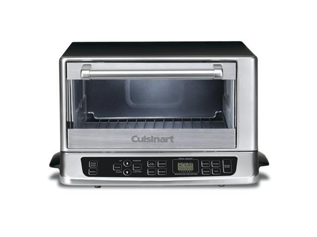 Refurbished: Cuisinart TOB-155 Stainless Steel Toaster Oven Broiler (Black)