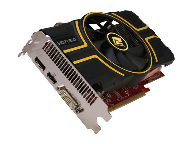 PowerColor AX7850 2GBD5-DH Radeon HD 7850 2GB 256-bit GDDR5 PCI Express 3.0 x16 HDCP Ready CrossFireX Support Video Card