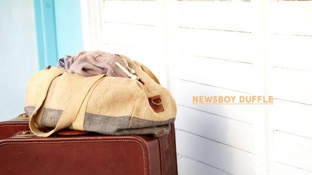Newsboy Duffle
