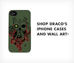 Shop Draco's iPhone Cases and Wall Art.