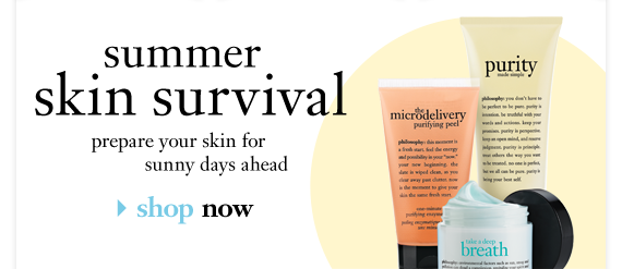 summer skin survival| prepere you skin for sunny days ahead| shop now