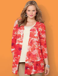 Hibiscus Key West Cardigan
