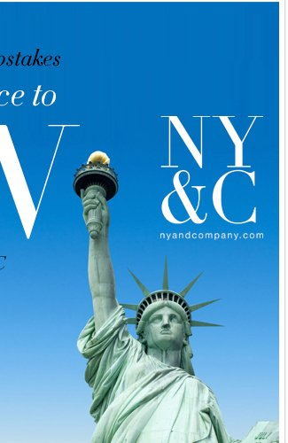 Enter our Summer in the City sweeps for a chance to win a trip to NYC!