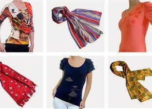 Summer Print Tops & Scarves by Morgana Moda