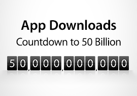 50 Billion App Downloads