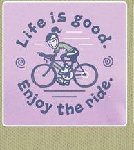 Women's Crusher Tee Enjoy The Ride Bike